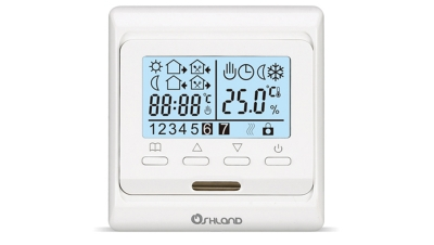 M6液晶数显周编程采暖温控器