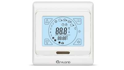 M9触摸屏周编程采暖温控器